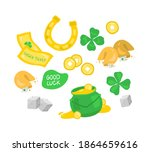 Vector Set Of Luck Objects....