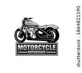 motorcycle enthusiast... | Shutterstock . vector #1864821190