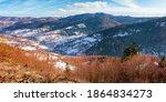Mountainous Countryside On A...