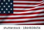 3d rendering flag of usa high...   Shutterstock . vector #1864838656