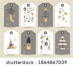 collection of tags with...   Shutterstock .eps vector #1864867039