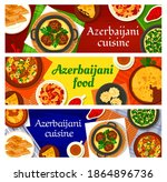 azerbaijani cuisine vector... | Shutterstock .eps vector #1864896736