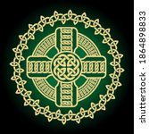 Decorative Celtic Black Cross...