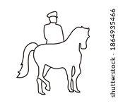 Turkey Soldier In Horse...