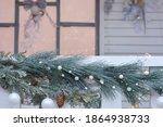 Christmas Decor Railing...