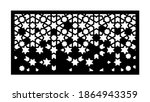 decorative fence template with... | Shutterstock .eps vector #1864943359