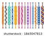vector set of multi colored...   Shutterstock .eps vector #1865047813
