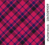 seamless pattern of scottish... | Shutterstock .eps vector #1865089009