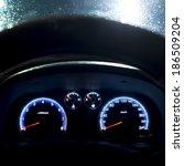 car instrument panel | Shutterstock . vector #186509204