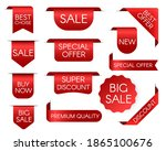 tag price. sale bookmark.... | Shutterstock . vector #1865100676