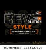 revolution style stylish... | Shutterstock .eps vector #1865127829