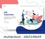 job interview illustration ...