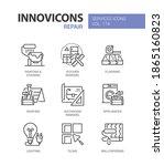 repair services   line design... | Shutterstock .eps vector #1865160823