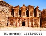 El Deir Building Carved Into...