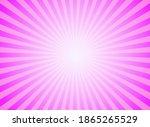 sunlight glow horizontal... | Shutterstock .eps vector #1865265529