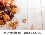 Nuts Walnuts Chestnuts Peeled...
