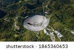 Arecibo Observatory In Puerto...
