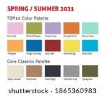 spring summer 2021 trendy color ...   Shutterstock .eps vector #1865360983