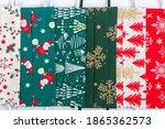 christmas handmade colorful... | Shutterstock . vector #1865362573