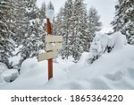 Snowy Mountain Hiking Trail...