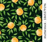 Botanical Seamless Pattern With ...