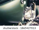 Retro Military Motorcycle...