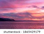 A Beautiful Sunrise In The...
