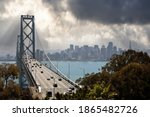 view of traffic on the bay...   Shutterstock . vector #1865482726