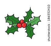 cartoon holly | Shutterstock .eps vector #186552410