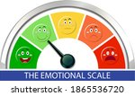 emotional scale with arrow from ...   Shutterstock .eps vector #1865536720
