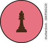 chess bishop figure....