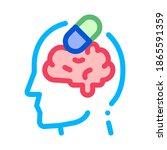 pills drugs man silhouette...   Shutterstock .eps vector #1865591359