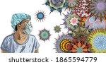 essential workers concept.... | Shutterstock .eps vector #1865594779