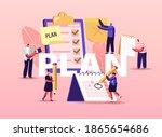 plan concept. business... | Shutterstock .eps vector #1865654686