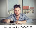monday morning again | Shutterstock . vector #186566120