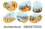 religion  christianity  bible... | Shutterstock .eps vector #1865673520