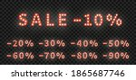sale marquee numbers template.... | Shutterstock .eps vector #1865687746