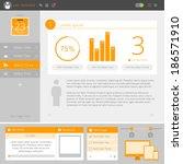website interface template...