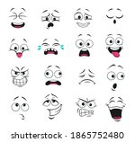 face expression isolated vector ... | Shutterstock .eps vector #1865752480