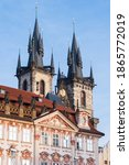 Prague Cathedral Seen From The...