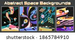 abstract space backgrounds ...   Shutterstock .eps vector #1865784910
