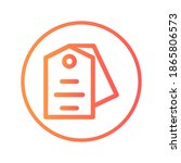 price tag icon vector... | Shutterstock .eps vector #1865806573