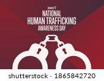 national human trafficking...   Shutterstock .eps vector #1865842720