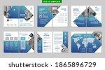 brochure creative design.... | Shutterstock .eps vector #1865896729