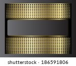 metal background | Shutterstock .eps vector #186591806