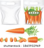 plastic bags to contain fresh... | Shutterstock .eps vector #1865932969