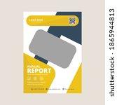 geometric corporate business... | Shutterstock .eps vector #1865944813
