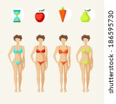 Female Body Shapes   Four...