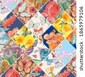 Vintage Patchwork Pattern From...