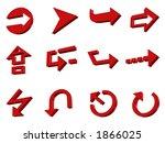 3d arrows | Shutterstock . vector #1866025